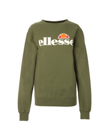 Ellesse Womens Green Agata Crew Sweat