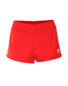 Adidas Originals Womens Red Regular Shorts