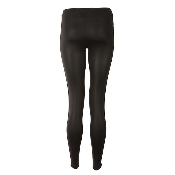 Adidas Originals Womens Black Taped Logo Leggings  main image