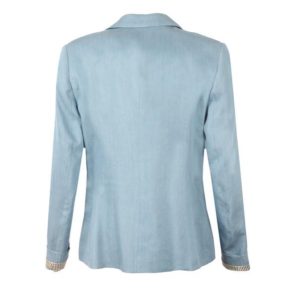 Maison Scotch Womens Blue Tailored Tencel Blazer  main image