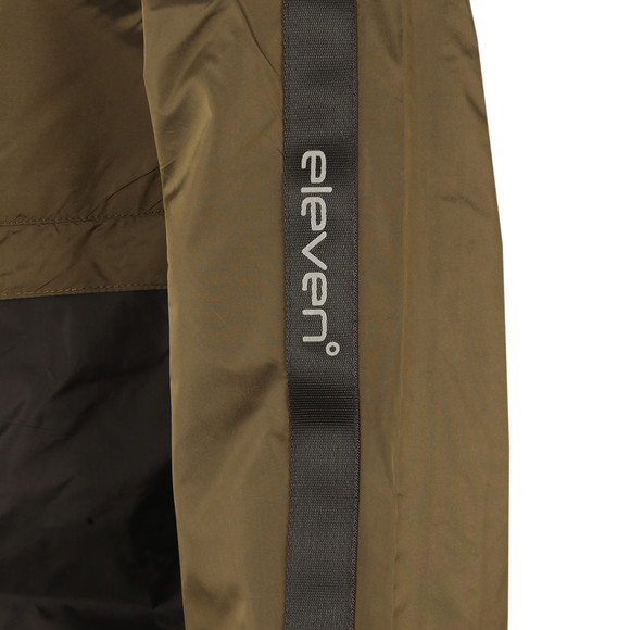 Eleven Degrees Mens Green Over Head Fishtail Jacket main image