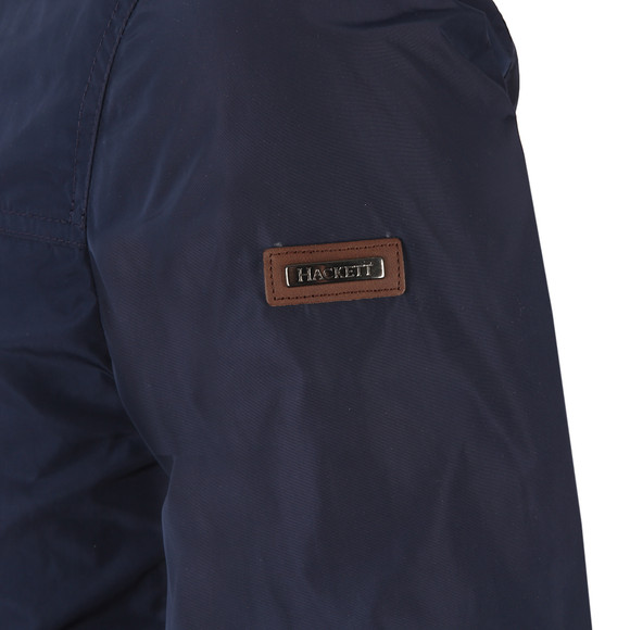 Hackett Mens Blue Nylon Jacket main image