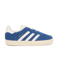 Adidas Originals Boys Blue Gazelle Trainer
