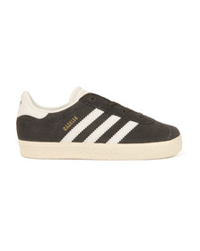 adidas Originals Boys Grey Gazelle Trainer