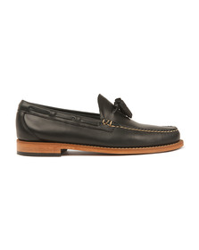 G H Bass & Co Mens Blue Larkin Tassle Loafer
