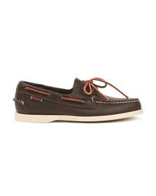 Sebago Mens Red Dockside Boat Shoe