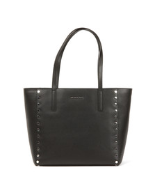 Michael Kors Womens Black Rivington Stud Tote