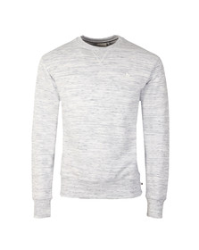 Money Mens Grey Zamac Crew Sweatshirt