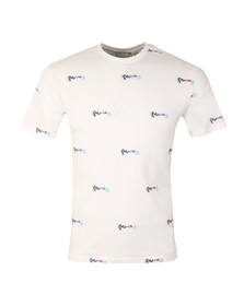 Money Mens White Motion AOP T Shirt