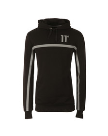 Eleven Degrees Mens Black Reflect Overhead Hoody