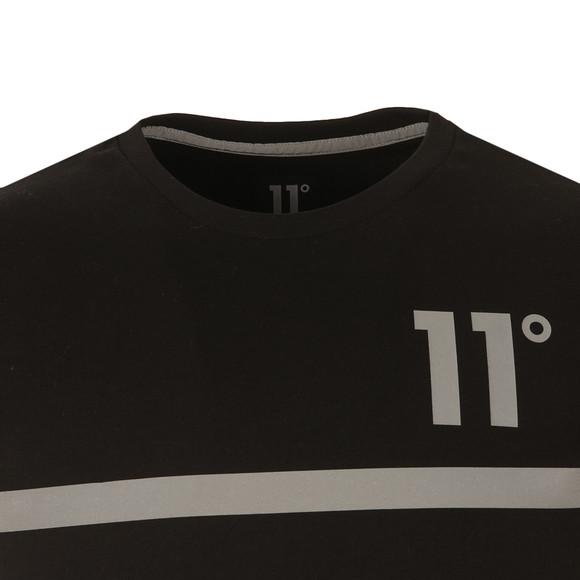 Eleven Degrees Mens Black Reflect T Shirt main image