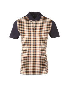 Aquascutum Mens Brown Dillon CC Polo Shirt