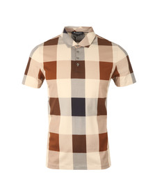 Aquascutum Mens Brown Cody CC Polo Shirt