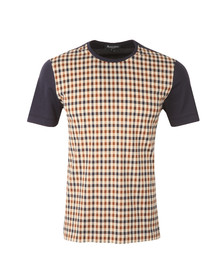 Aquascutum Mens Brown Thornton CC T Shirt