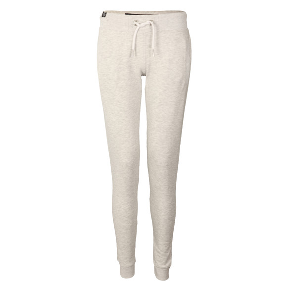 Superdry Womens Grey O L Luxe Lite Edition Slim Jogger main image