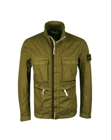 Stone Island Mens Green Membrana 3L TC Jacket