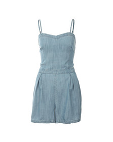 Superdry Womens Blue Tabitha Soft Playsuit