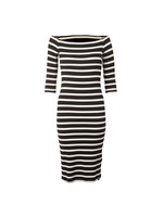 Breton Wrap Dress