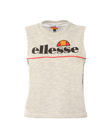 Ellesse Womens Grey Saggina Sleeveless Top