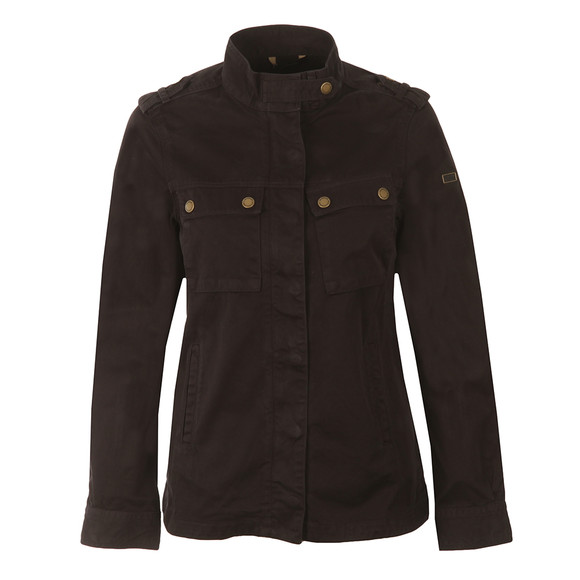 Barbour International Womens Black Tachometer Casual Jacket  main image
