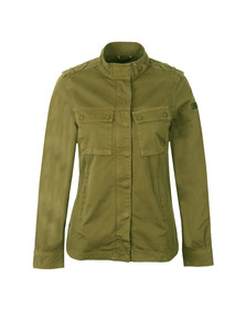 Barbour International Womens Green Tachometer Casual Jacket