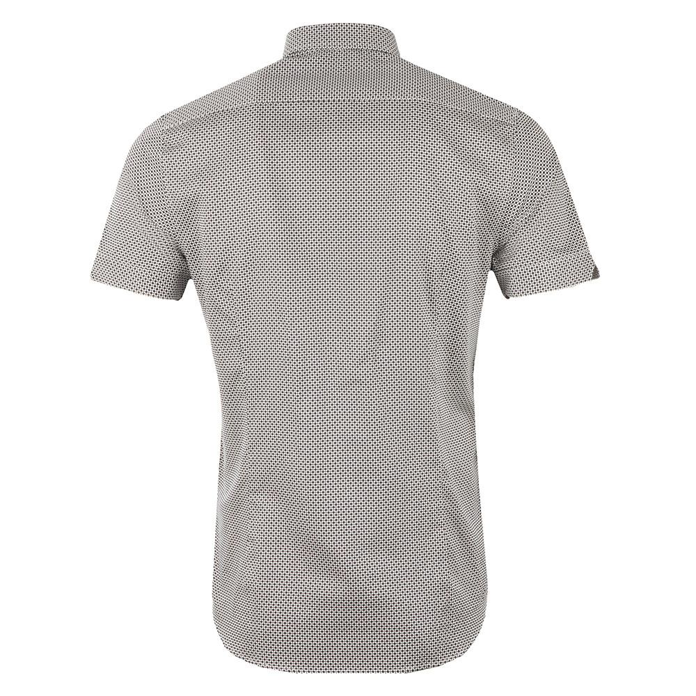 a9ede2970b15 Ted Baker Munkee S S Diamond Print Shirt