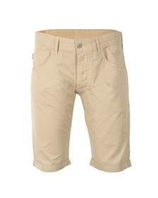 Armani Jeans Mens Beige Chino Shorts