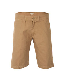 Carhartt Mens Brown Johnson Chino Short