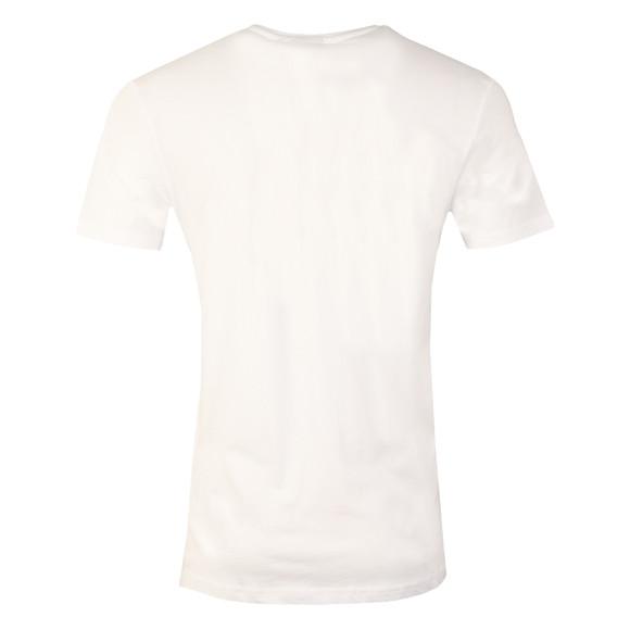 Nicce Mens White Chest Logo  T Shirt main image
