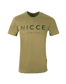 Nicce Mens Green Original T-Shirt