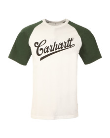 Carhartt Mens White Strike T Shirt