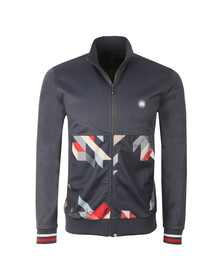Pretty Green Mens Blue Kirby Track Top