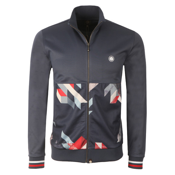 Pretty Green Mens Blue Kirby Track Top main image
