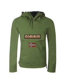 Napapijri Mens Green Rainforest Summer Jacket