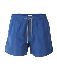Paul Smith Mens Blue Classic Plain Swim Shorts