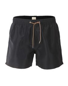 Paul Smith Mens Blue Classic Plain Swim Shorts