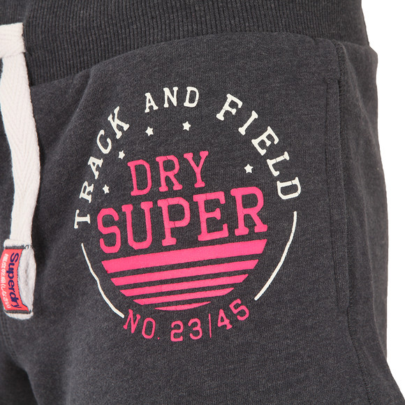 Superdry Womens Blue Track & Field Sweat Short main image