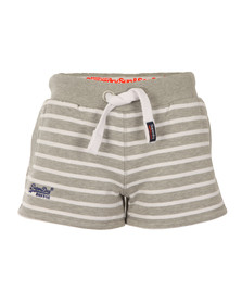 Superdry Womens Grey Sun & Sea Breton Short