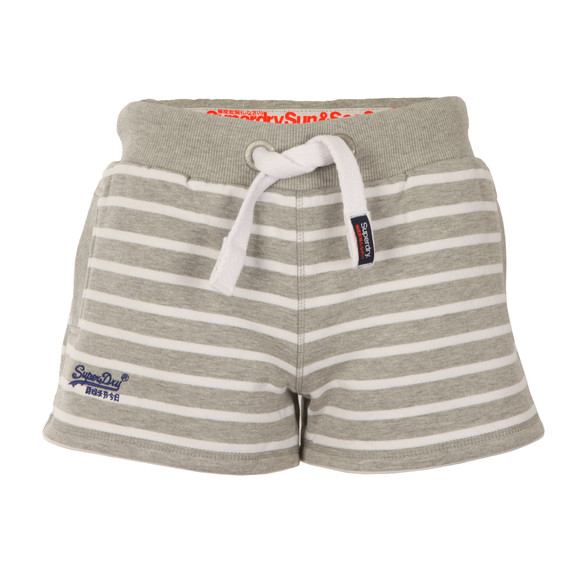 Superdry Womens Grey Sun & Sea Breton Short main image