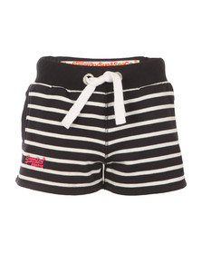 Superdry Womens Blue Sun & Sea Breton Short