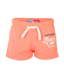 Superdry Womens Orange Track &  Field Lite Short