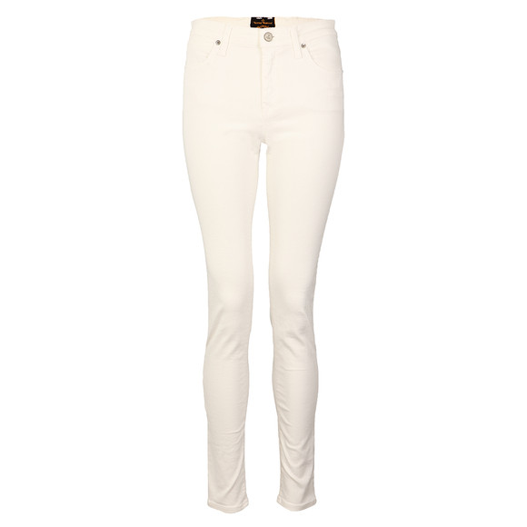 Vivienne Westwood Anglomania Womens White Monroe Jegging
