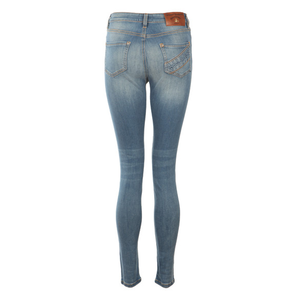 Vivienne Westwood Anglomania Womens Blue Yeates Jegging main image