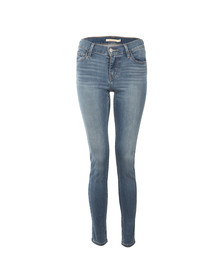 Levi's Womens Blue 710 Super Skinny Jean