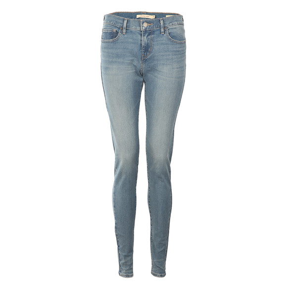 Levi's Womens Blue 710 Super Skinny Jean main image