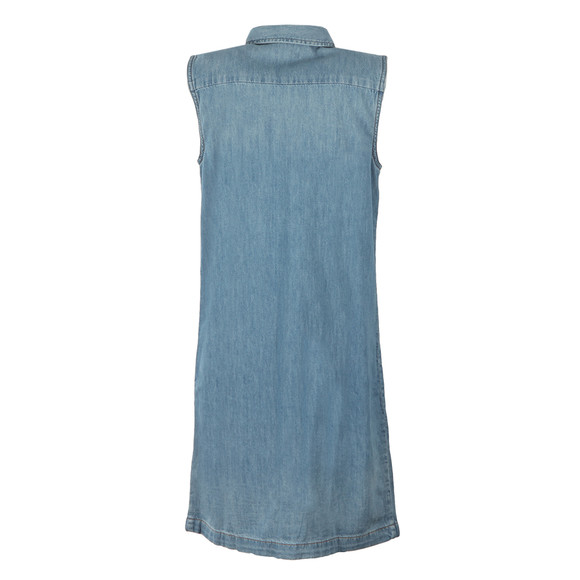 Levi's Womens Blue 70s Western Dress main image