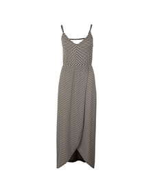 Superdry Womens Blue Azur Cross Front Maxi Dress