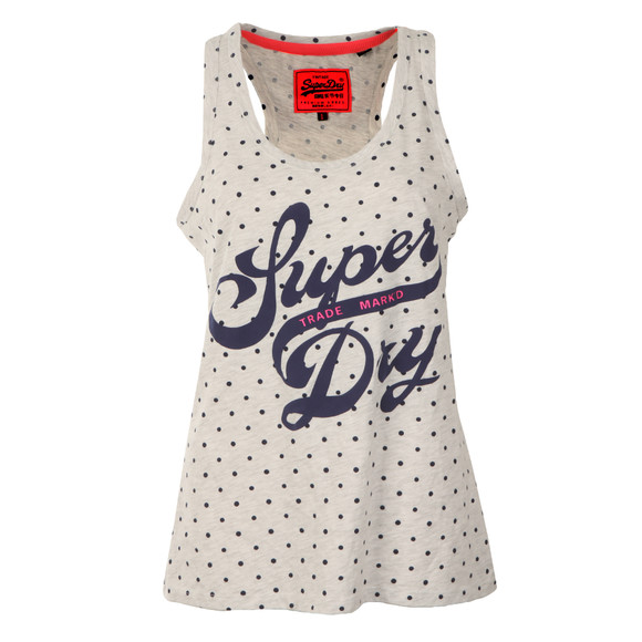 Superdry Womens Grey Trade Markd Entry Vest main image