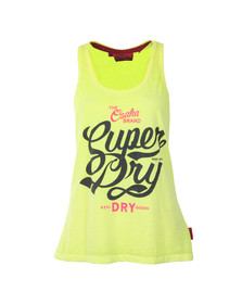 Superdry Womens Yellow Osaka Brand Entry Vest