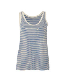 Levi's Womens Blue The Perfect Tank